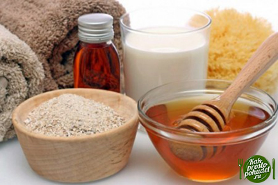 Скраб против целлюлита на основе меда